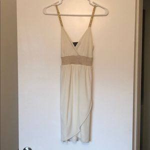 Guess Cream and Gold Dress